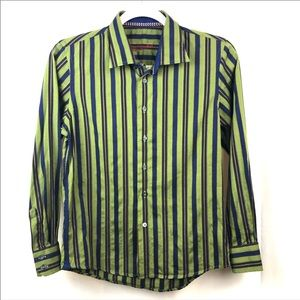 ROBERT GRAHAM Boy's Size M Button Up Shirt. EUC.